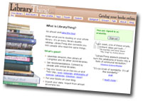 LibraryThing - your virtual book-shelf