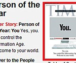 Time magazine: YOU are the person of the year