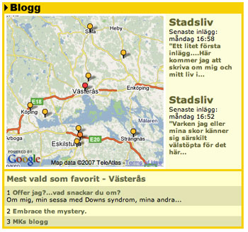 Blogs for Västerås